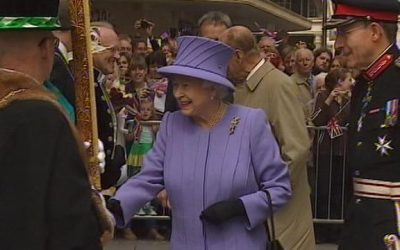 DJ visit to Devon by HM The Queen & HRH The Duke of Edinburgh
