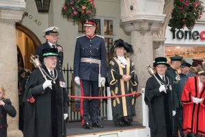HM LL, High Sherrif, Lord Mayor Poppy Launch