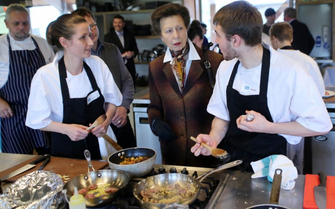 Princess Royal visits River Cottage HQ