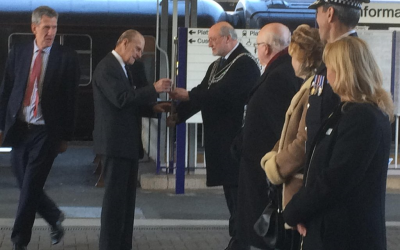 The Duke of Edinburgh visits Plymouth