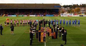 Poppy Launch 24.10.2015 Exeter City FC