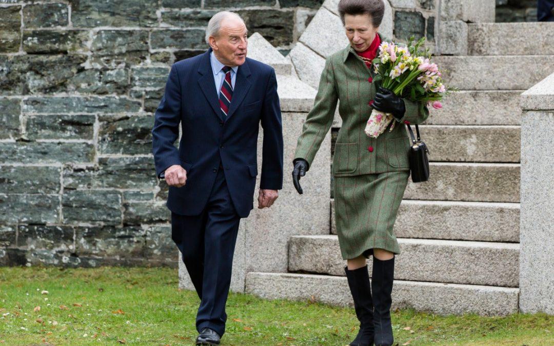 Princess Royal visits Mount Kelly Pool, Tavistock