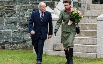 Princess Royal visits Mount Kelly Pool, Tavistock
