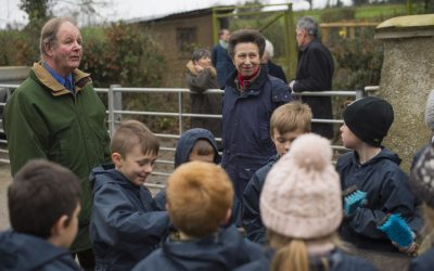 HRH Princess Royal visits Farms for City Children