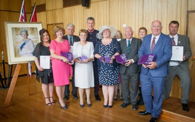 HM Lord-Lieutenant of Devon presents British Empire Medals and Queens Awards for Voluntary Sector in Plymouth