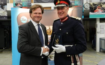 HM Queen's Award for Enterprise award to SC Group