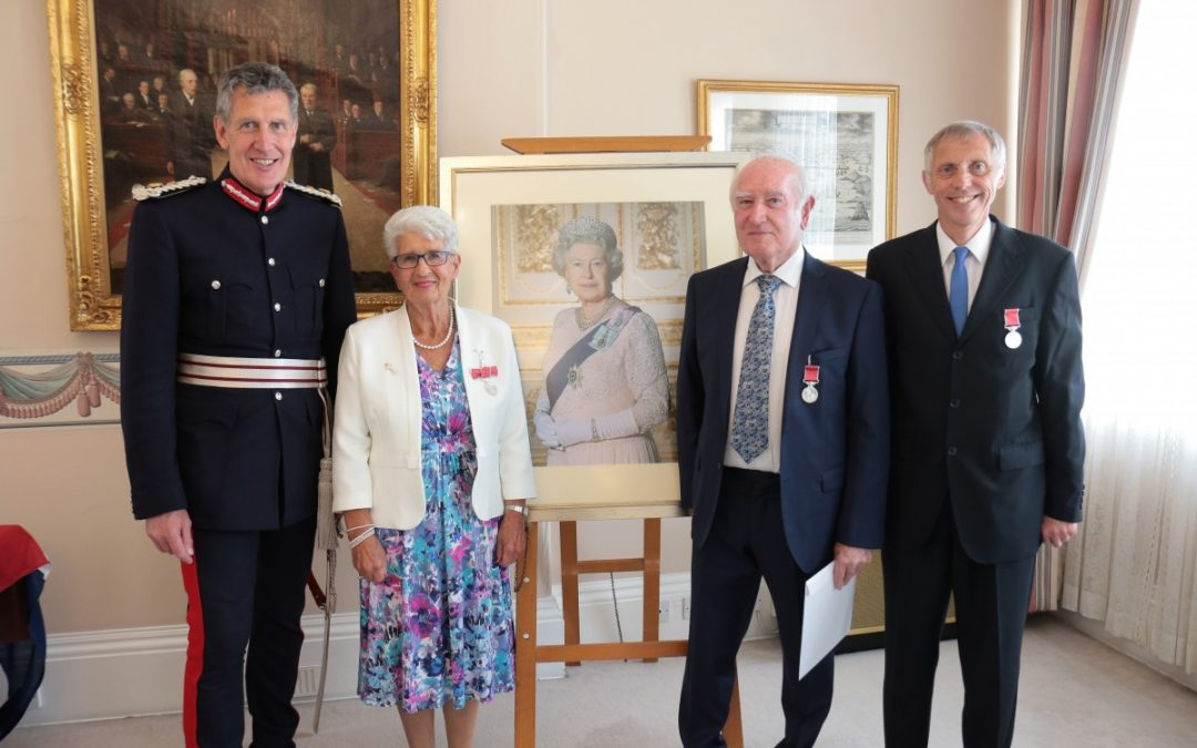 British Empire Medalist from HM Queens New Year Honours 2017