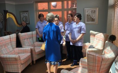 RH The Duchess of Gloucester opens a new wing of The Lodge in Exeter
