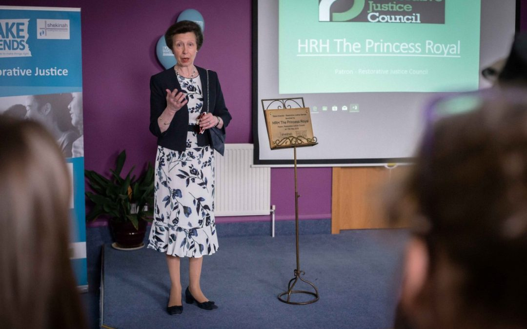 Princess Royal attends Make Amends Conference in Torquay