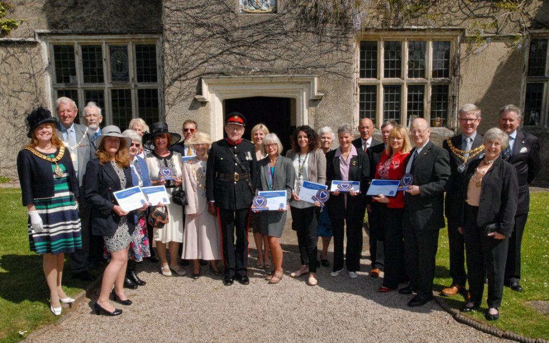 Robin Barlow DL attends South Devon NHS/VCS Quality Awards