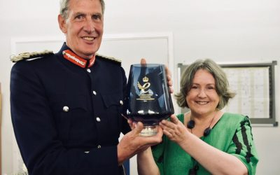 HM Lord Lieutenant of Devon presents HM Queens Award for Enterprise to Little Pod, Farringdon