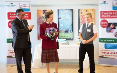 HRH Princess Royal visits Devon