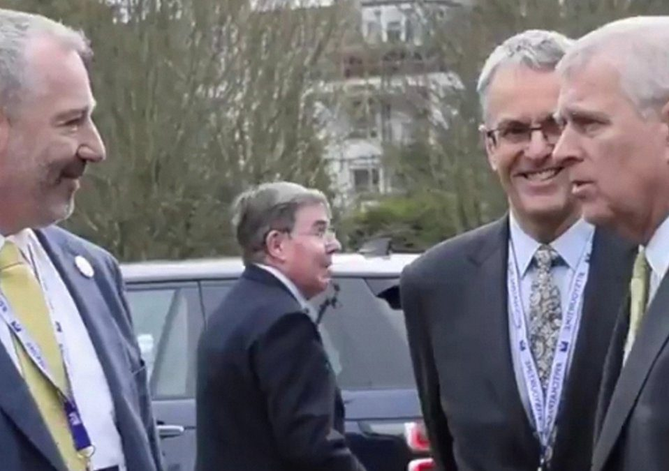 HRH Duke of York attends Pitch @ Palace on Tour in Devon