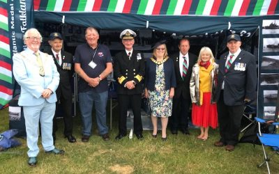 Rear Admiral Chris Snow CBE DL attended the Torbay Air Show 2.6.2019