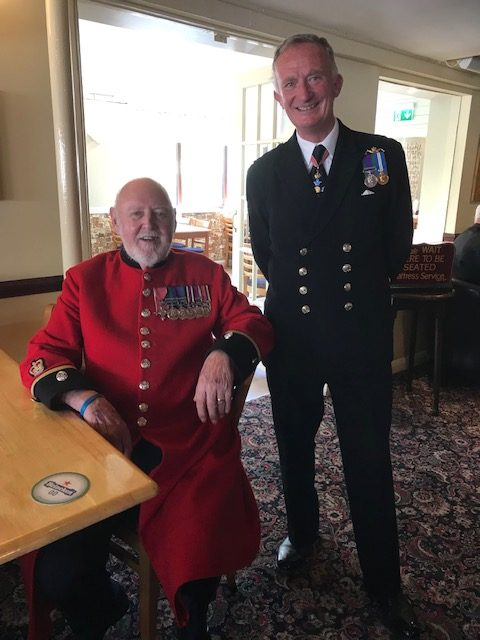 Rear Admiral Chris Snow attends Torbay Armed Forces Day 22.6.2019