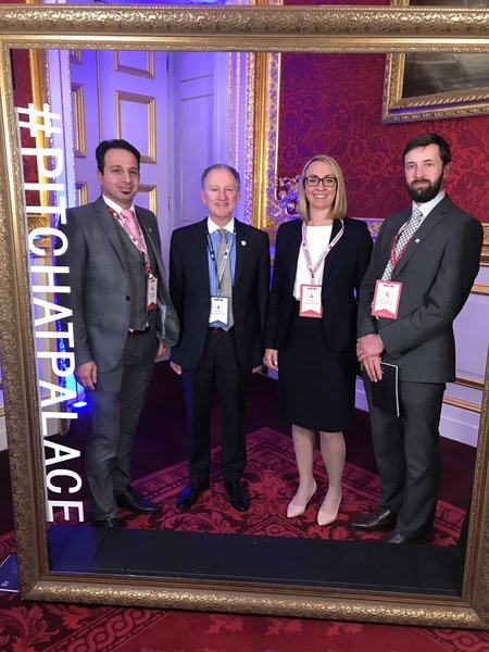 Mark Parkhouse DL attends #Pitch@Palace in June 2019