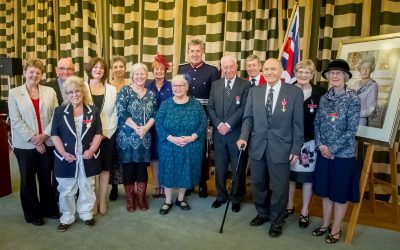 HM Lord Lieutenant of Devon held an Investiture at County Hall, Exeter on Friday 11th October 2019