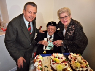 Joe Daniels celebrates his 108th Birthday