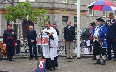 Photo's of events attended by the Lieutenancy on VJ Day 15th Aug 2020